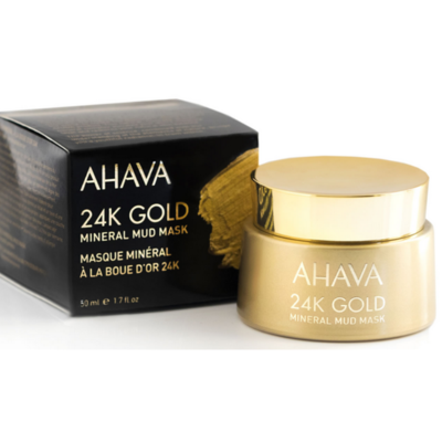 24K Gold Mineral Mud Mask