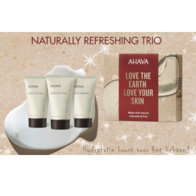 Naturally Refreshing Trio